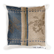 Piece from a Japanese Silk Weaving, Square Pillow