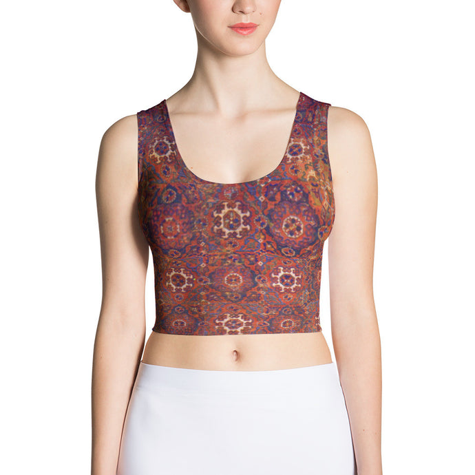 Holbein Carpet, Crop Top