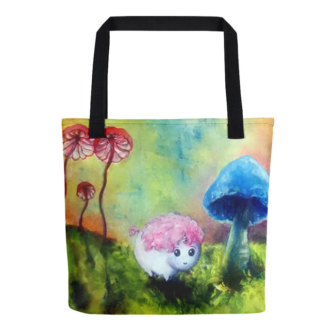 Two Unifluffs, Molly Smith, Tote Bag