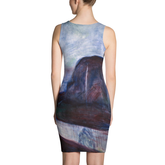 Starry Night, Edvard Munch, Dress