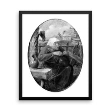 A Peasant Woman Picking Fleas Off a Dog, Adriaen Brouwer, Framed Poster