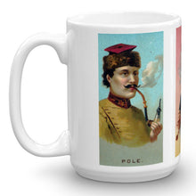 Pole Thibet Odalisque, World's Smokers, Allen & Ginter, 15-Oz. Mug