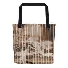 Runner in the City, El Lissitzky, Tote Bag