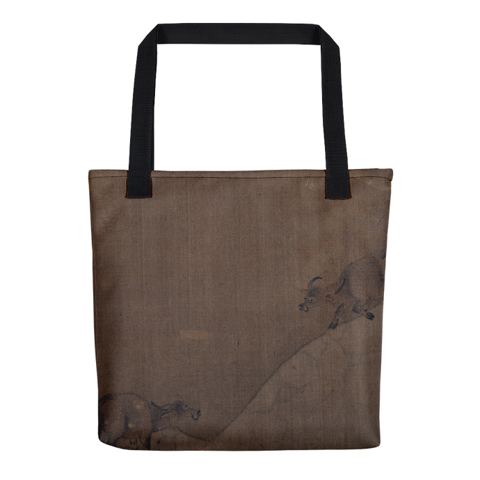 Water Buffaloes, Song Dynasty Artist, Tote Bag