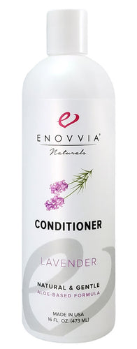 Enovvia Natural Lavender Silicone-Free Conditioner - 16 oz - Front