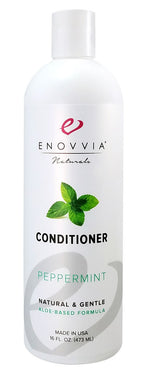 Enovvia Natural Peppermint Conditioner - 16 oz - Front