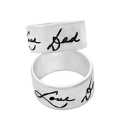 Load image into Gallery viewer, signature ring silver