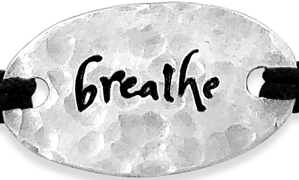 breathe - small intentions - daVoria jewelry
