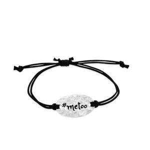 #metoo - small intentions silver bracelet- daVoria jewelry, jewellery stores