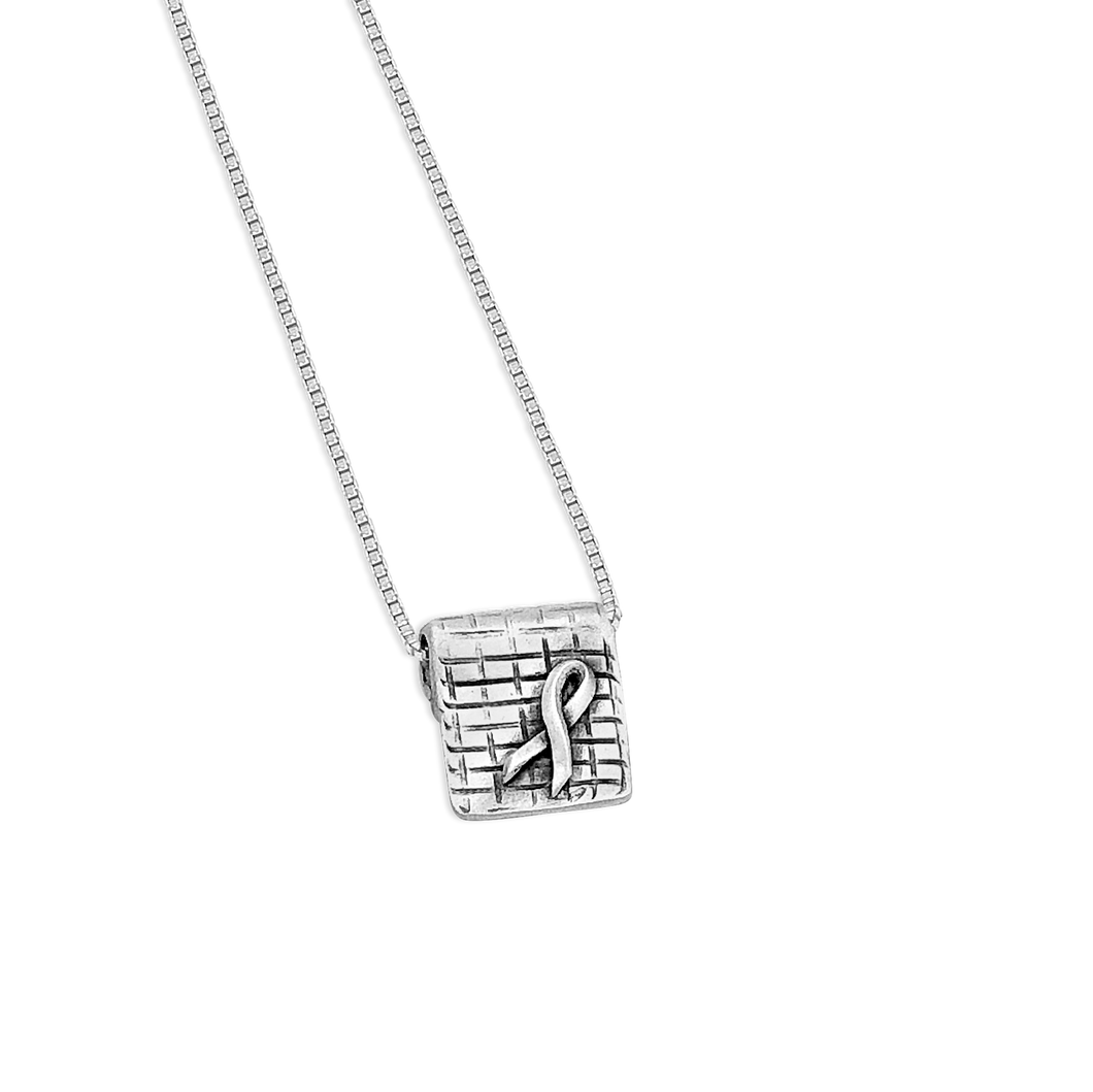 aware - little inspirations silver necklace - daVoria jewelry-silver bracelet-  we make personalized silver jewellerey