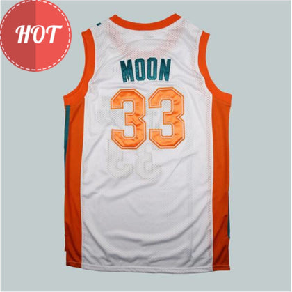 Jackie Moon 33 Flint Tropics Basketball Jersey Stitched White
