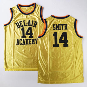 #14 Will Smith BEL-AIR Academy Jersey #25 Carlton Banks Basketball Jersey - Jimmys Jerseys