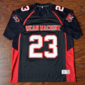 Earl Megget #23 Mean Machine Football Jersey Stitched Black - Jimmys Jerseys
