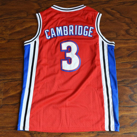 Calvin Cambridge 3 Knights Basketball Jersey Stitched Red Like Mike