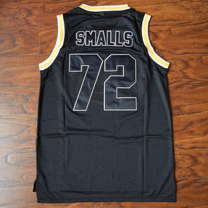 Biggie Smalls 72 Bad Boy Basketball Jersey Black - Jimmys Jerseys