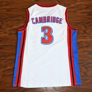 Calvin Cambridge 3 KNIGHTS basketball jerseys White/Red - Jimmys Jerseys