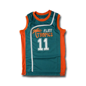 Monix #11 Flint Tropics Basketball Jersey - Jimmys Jerseys