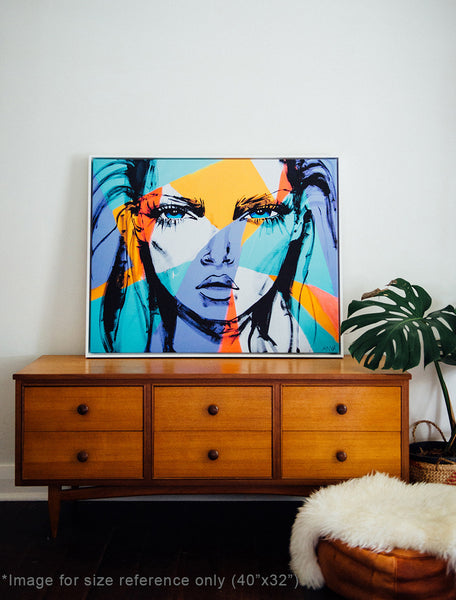 'Tonight I Lie With This' CANVAS PRINT