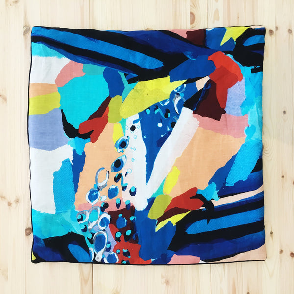 STOCK SALE Abstract cushion COVER ONLY