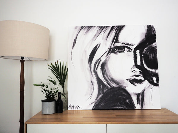 'Fish Eye' CANVAS PRINT