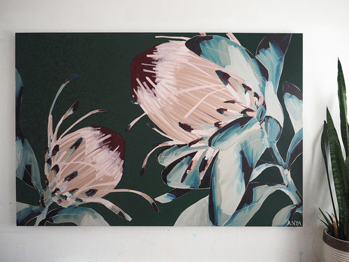 CUSTOMISED 'An Illusory Moment' Extra Large Stretched Canvas Print
