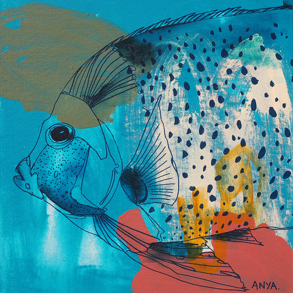 'Faraday the Fish' Paper PRINT