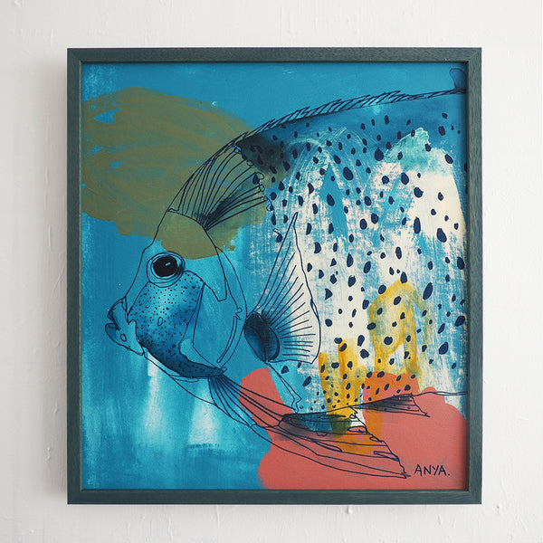 'Faraday the Fish' CANVAS PRINT