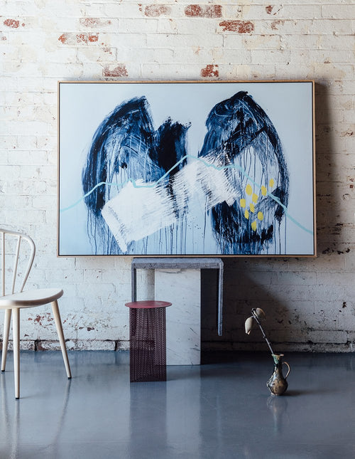 Stretched and Framed 'LUNGS' XL CANVAS PRINT