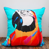 SALE Macaw Cushion COVER ONLY