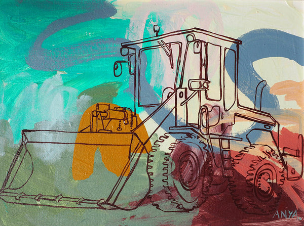'Teddy The Tractor'
