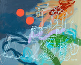 'Tobias The Tractor' CANVAS PRINT