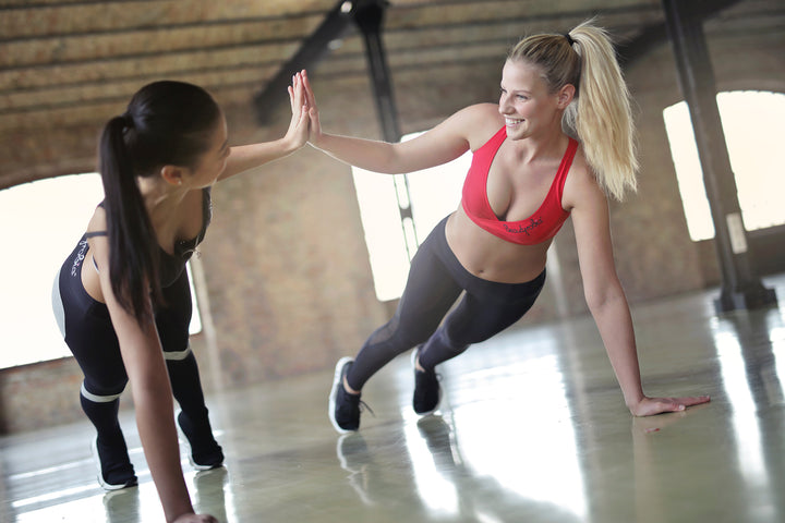 Valentine's or Galentine's, This Fun Two-Person Cardio Session Will Burn Fat (And Make You Smile!)