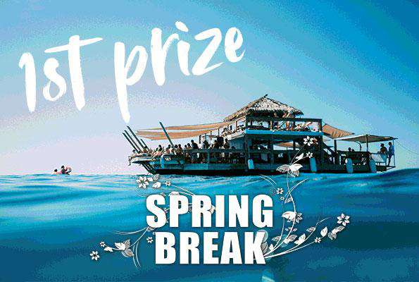 1st prize spring break