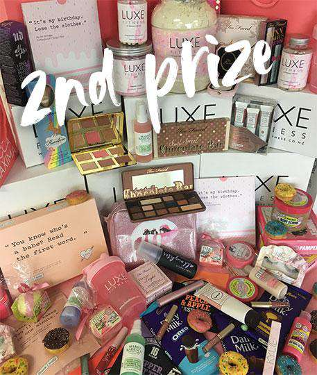 2nd prize $1000 WORTH OF MAKEUP AND SKINCARE