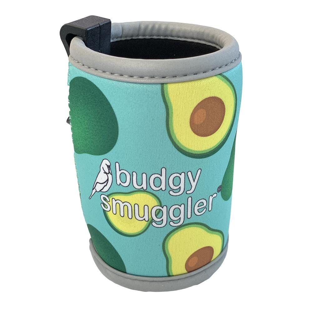 Avocado Stubby Holder with Clip