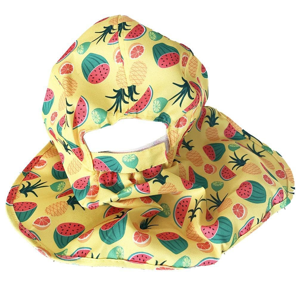 Fruit Salad Flap Hat