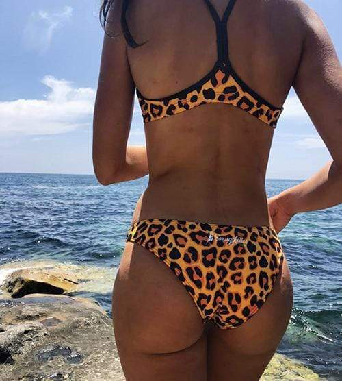 Leopard Sports Bottoms