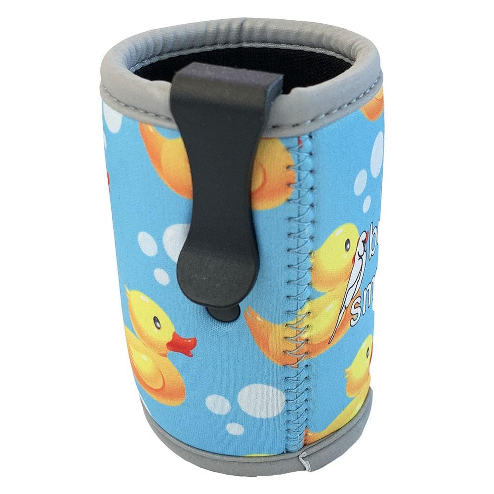 Rubber Ducks Stubby Holder with Clip