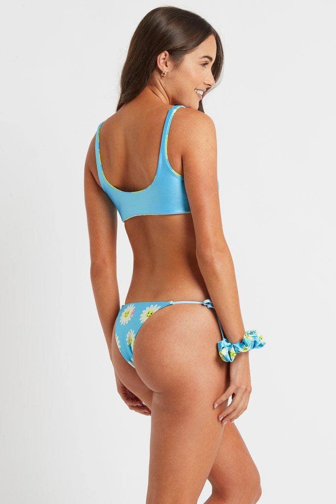 Avalon Bottoms in Blue Daisies