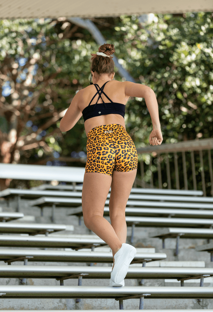 Leopard Booty Shorts
