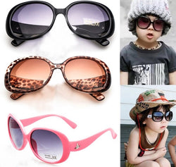 Girls Oval Sun Glasses       Free+Shipping