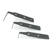 Serrated Cold Knife Blades - 5 Pack