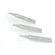 GT Tools Stainless Steel Cold Knife Blades - 5 Pack