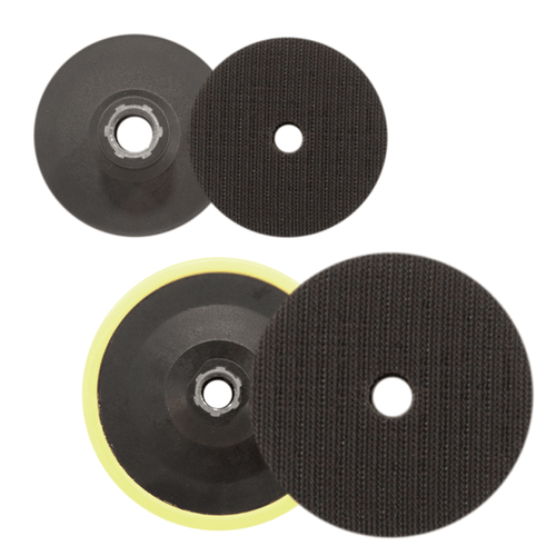 Glass Scratch Removal Backing Pads - Hook and Loop