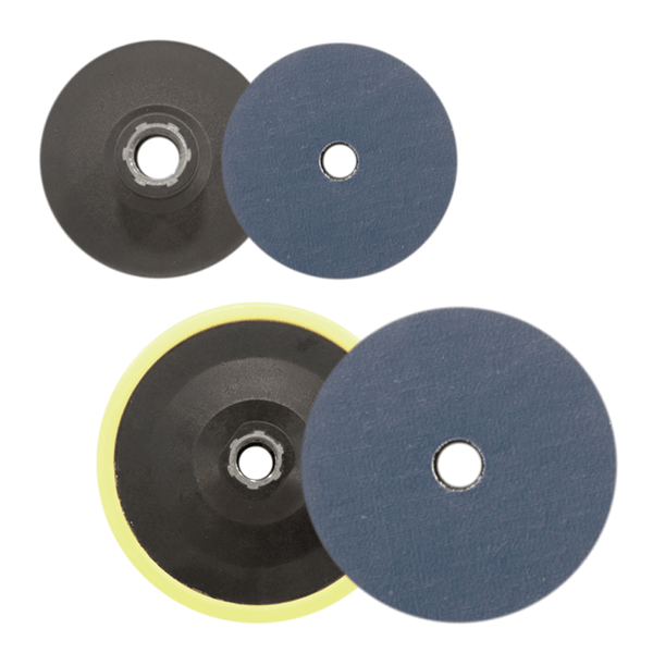 Glass Scratch Removal Backing Pads - PSA
