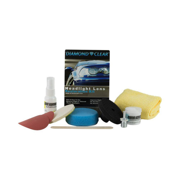 Starter Plus Diamond Clear Headlight Repair Kit