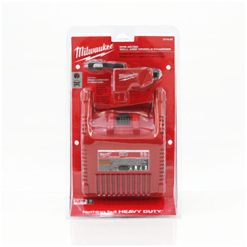 Milwaukee M18 Sawzall Wall and Car Charger - AC/DC