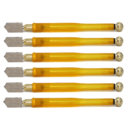 Glass Technology Oil Glass Cutter - 6 Pack
