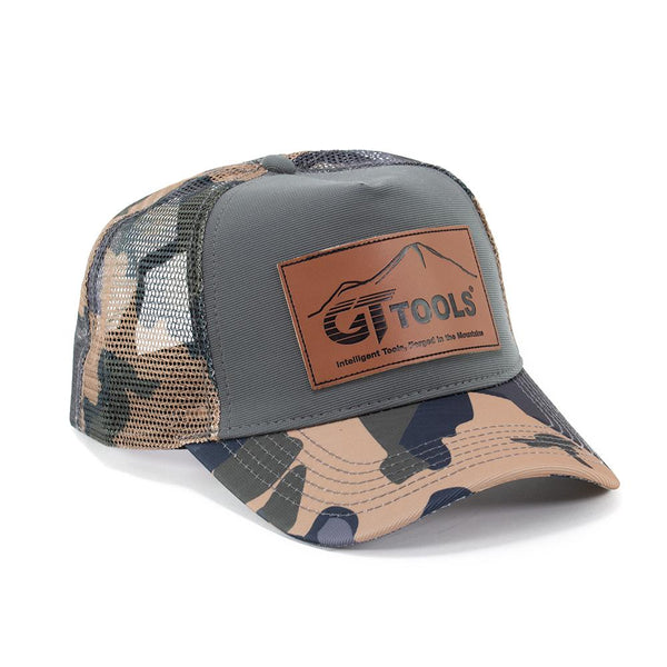 GT Tools Camo Trucker Hat
