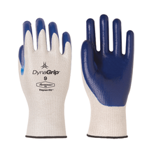 DynaGrip Dynamax Gloves with Solid Nitrile Palm Coating